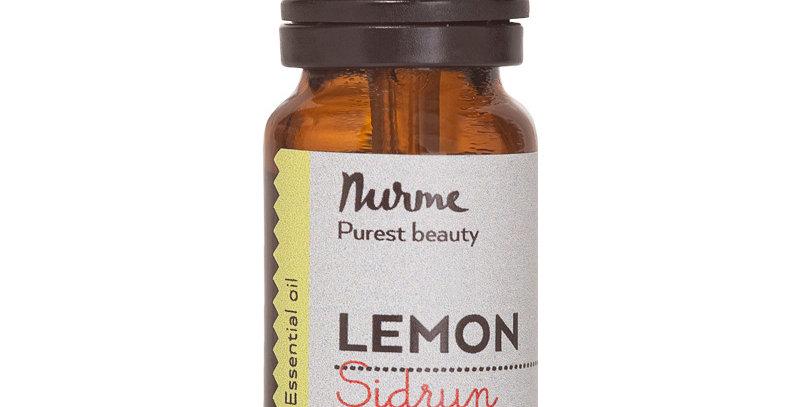 Nurme Lemon - Sitruunan eteerinen öljy 10ml