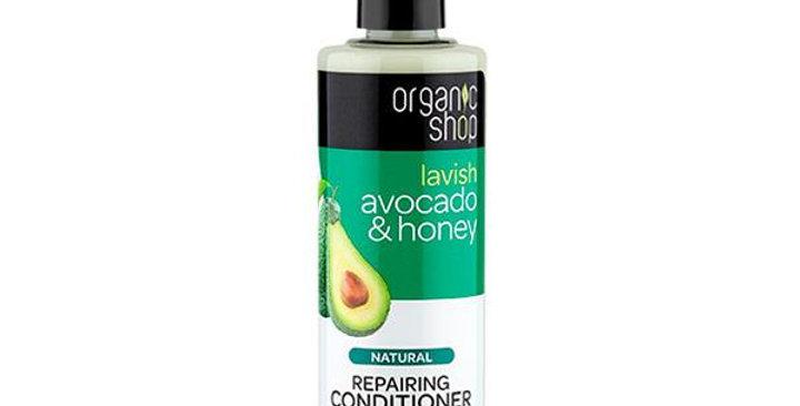 Organic Shop Avocado & Honey Hoitoaine