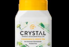 Crystal essence Mineraali/Suoladeo Roll-on Kamomilla & Vihreä tee 66g