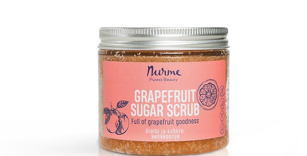 Nurme Grapefruit Sugar Scrub Greippi vartalonkuorinta 250g