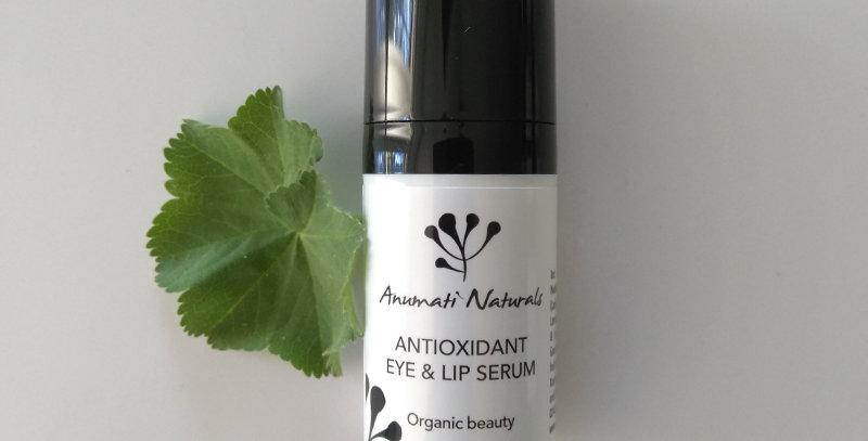 Anumati Naturals Antioxidant Eye&Lip Serum silmänympärysgeeli