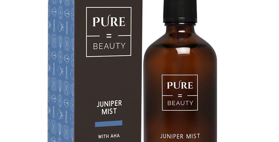 Pure is Beauty Juniper mist + AHA kirkastava katajanmarja kasvosuihke 100ml