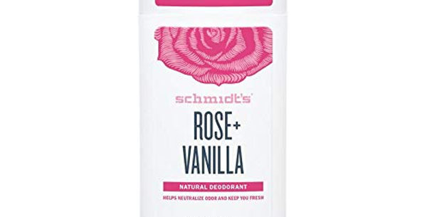 Schmidt´s Rose+vanilla Deodorantti  92g
