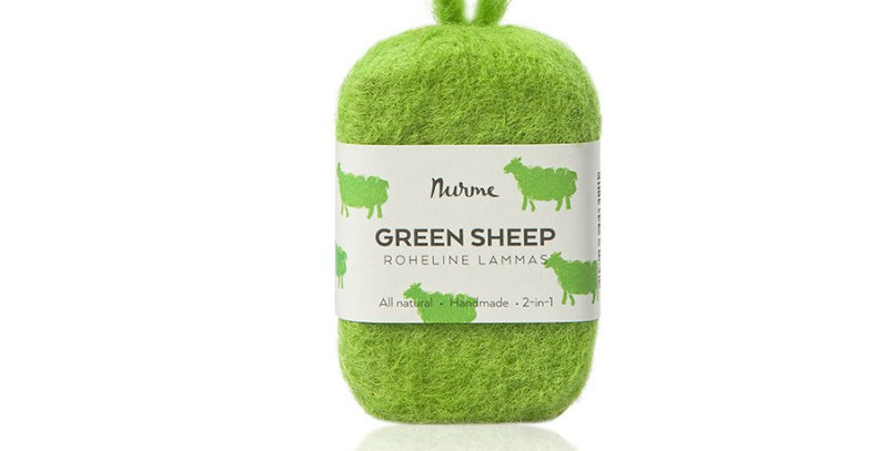 Nurme Green sheep huopasaippua 80g