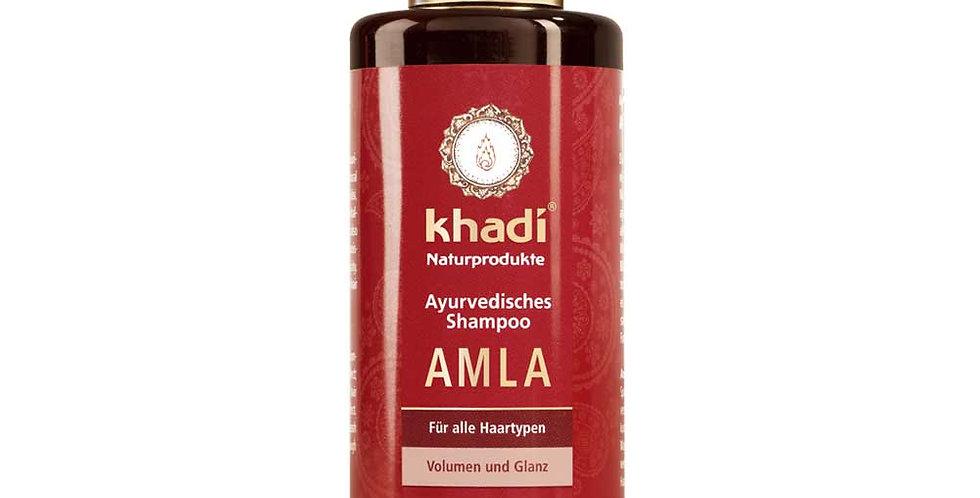 Khadi Amla Shampoo ohuille ja veltoille hiuksille 200ml