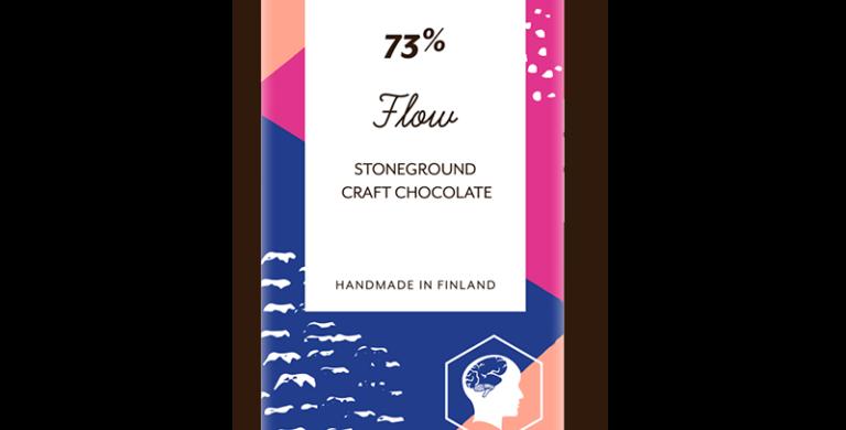 Foodin raakasuklaa Flow, 73%, 40g