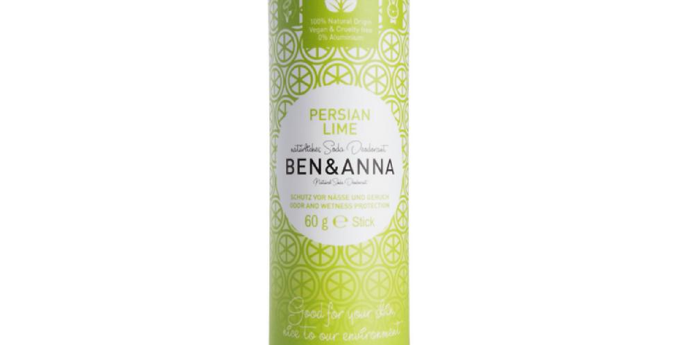 Ben&Anna Persian Lime Deodorantti- papertube 60g