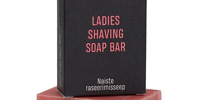 Nurme Ladies Shaving Soap Bar Palasaippua Ihokarvojen Poistoon 100g