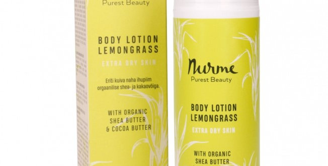 Nurme  Organic Lemongrass Body Lotion 150ml