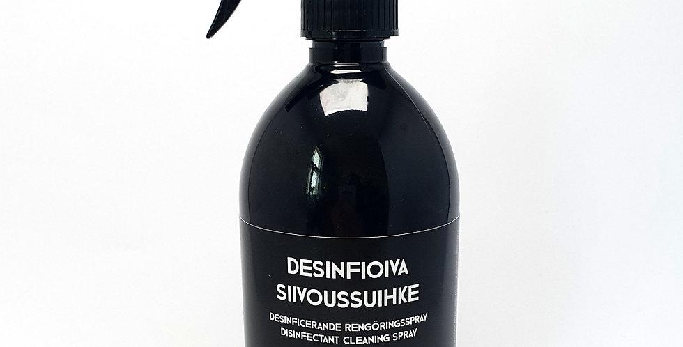 FIINI Desinfioiva luonnollinen Siivoussuihke 500ml, kotimainen 70% alkoholia