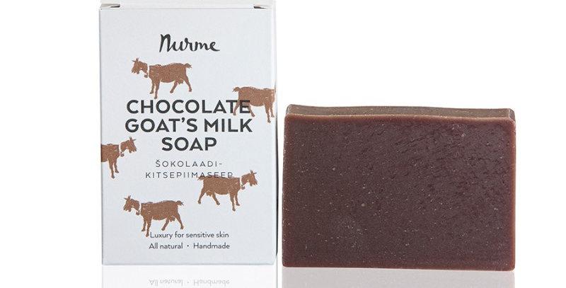 Nurme Suklaa - vuohenmaito palasaippua