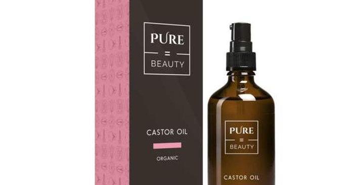 Pure=Beauty Castor Oil 100ml Luomu risiiniöljy