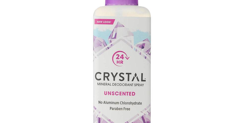 Crystal Mineraali Body Deospray tuoksuton suoladeodorantti 118ml
