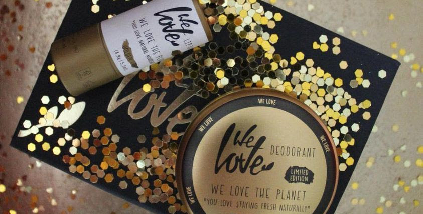 We Love the Planet Golden Edition lahjapakkaus deo+ huulivoide