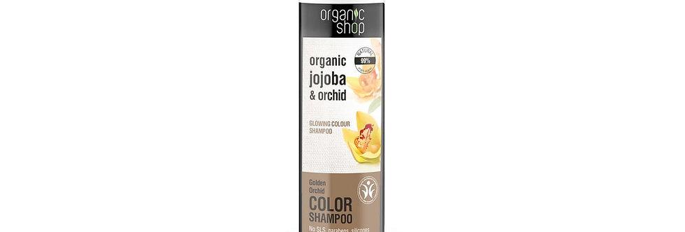 Organic Shop Värjätyille Hiuksille Shampoo
