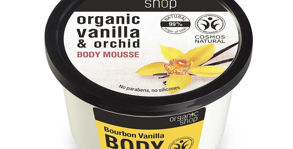 Organic Shop Bourbon Vanilla vartalomousse