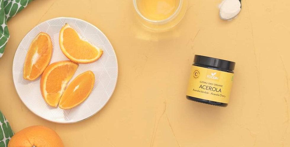 Foodin Acerola- jauhe luomu 50g