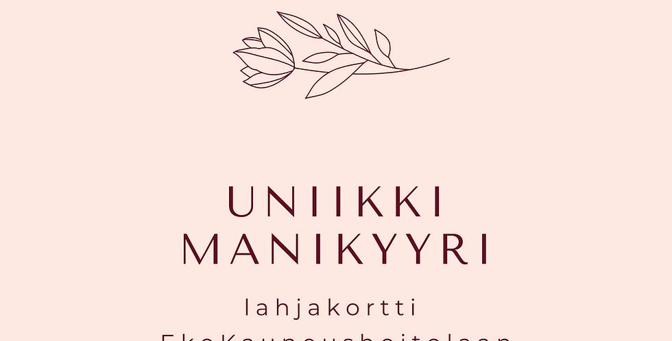 Lahjakortti Uniikki manikyyri
