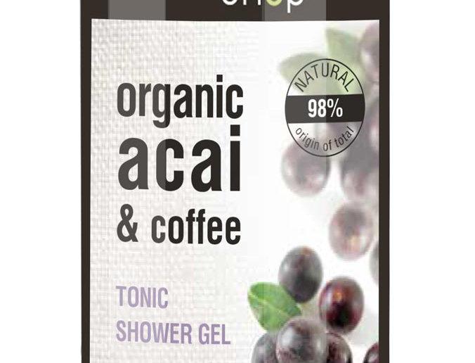 Organic Shop suihkugeeli Acai & coffee 280 ml