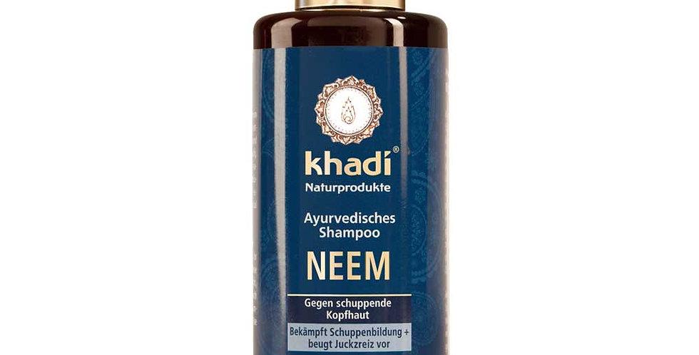 Khadi Neem Anti- dandruff Shampoo hilseilevälle päänahalle 200ml