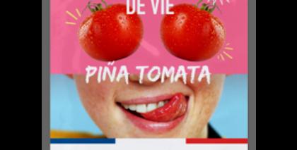 Pulpe de Vie Pina Tomata kirkastava kangasnaamio 20ml