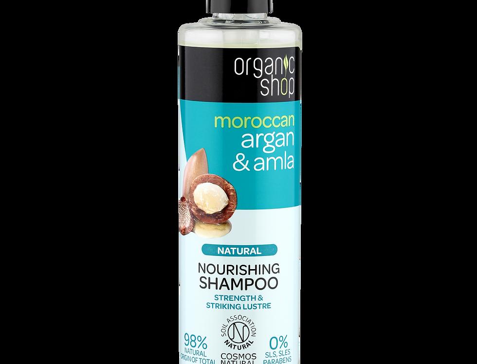 Organic Shop Argan & Amla shampoo 280 ml