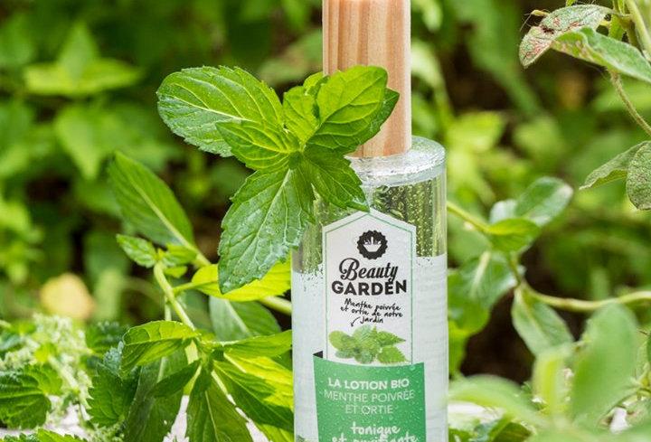 Beauty Garden Piparminttu-nokkoskasvovesi, 100ml