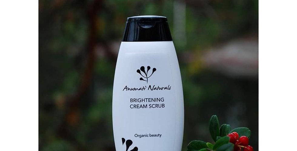Anumati Naturals Brightening cream scrub 50ml kasvokuorinta