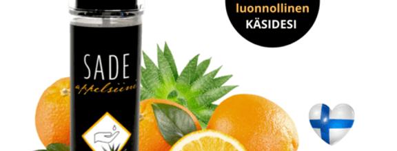 Tuisa Sade hoitava appelsiini käsihuuhde 150ml, sis. probiootteja
