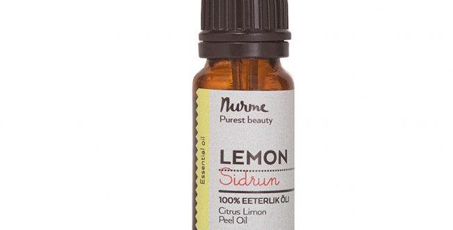 Nurme Lemon Sitruuna eteerinen öljy 10ml