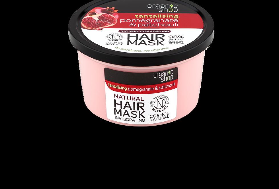Organic Shop Pomegranate & Patchouli hiusnaamio 250 ml
