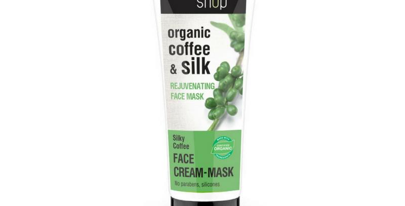 Organic Shop Silky Coffee Uudistava kahvikasvonaamio 75 ml