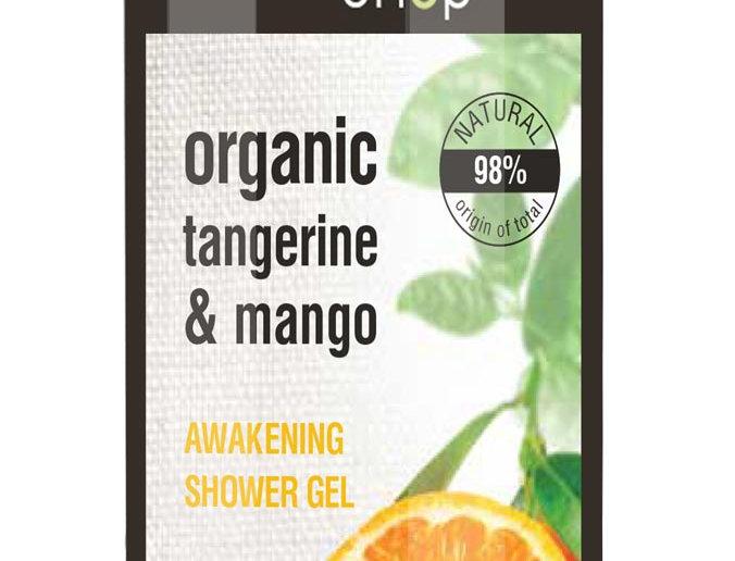 Organic Shop suihkugeeli Tangerine & mango 280 ml