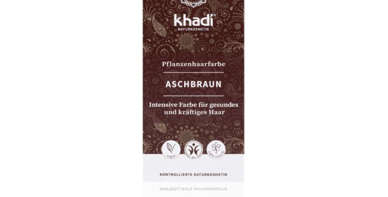 KHADI Hair Colour Ash Brown – Kasvihiusväri tuhkanruskea