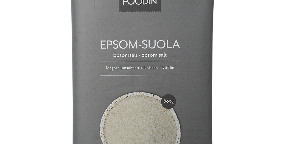 Foodin Epsom-suola, 800g