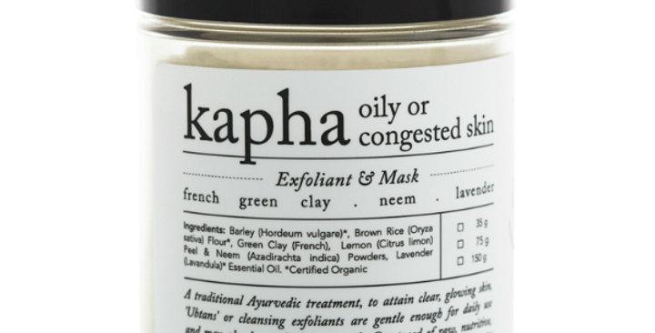 Rasasara Kapha Exfoliant&Mask kuorinta- ja naamiojauhe kasvoille 75g