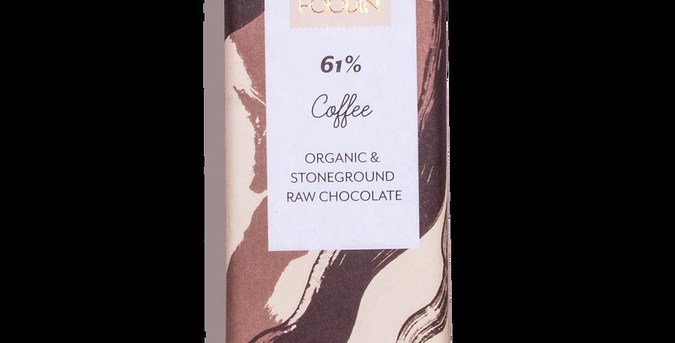 Foodin coffee raakasuklaa 60%, 40g