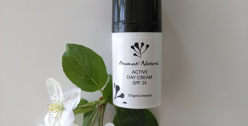 Anumati Naturals Active Day Cream SPF25, 30ml
