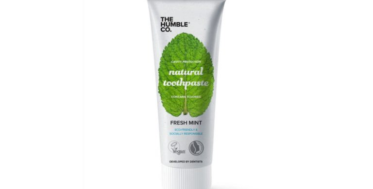 The Humble Co Fresh Mint Minttu Hammastahna 75ml