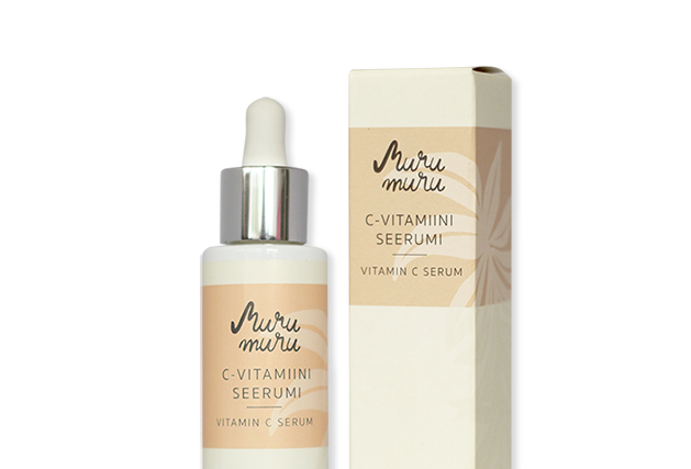 Murumuru C-vitamiini-hyaluronihapposeerumi 30ml