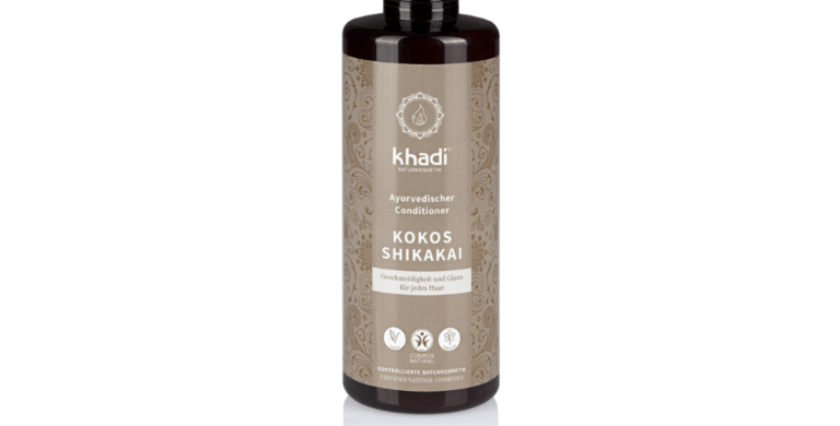 KHADI Kokos Shikakai Conditioner – Kookos-Shikakai hoitoaine 200ml
