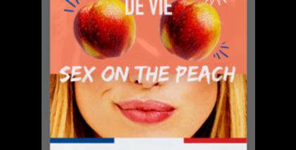 Pulpe de Vie Sex on the peach kosteuttava ja heleyttävä kangasnaamio 20ml