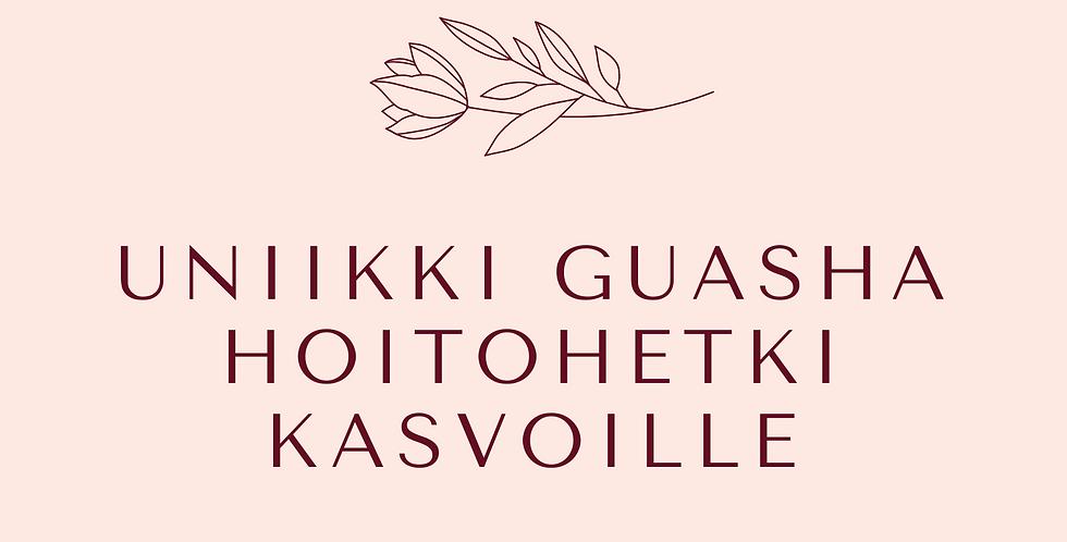 Lahjakortti Uniikki GuaSha Hoitohetki Kasvoille
