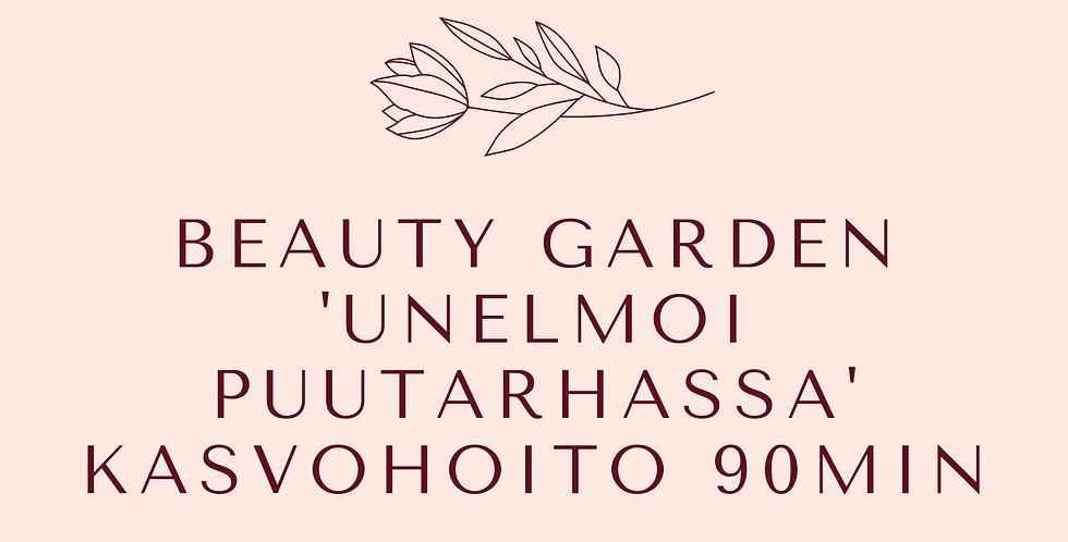 Lahjakortti Beauty Garden ' Unelmoi puutarhassa ' kasvohoito 90min