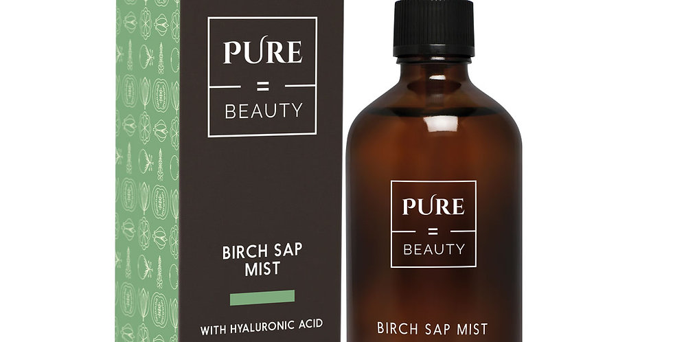 Pure is Beauty Birch Sap mist +Hyaluronic Acid koivunmahla hyaluronihappo 100ml