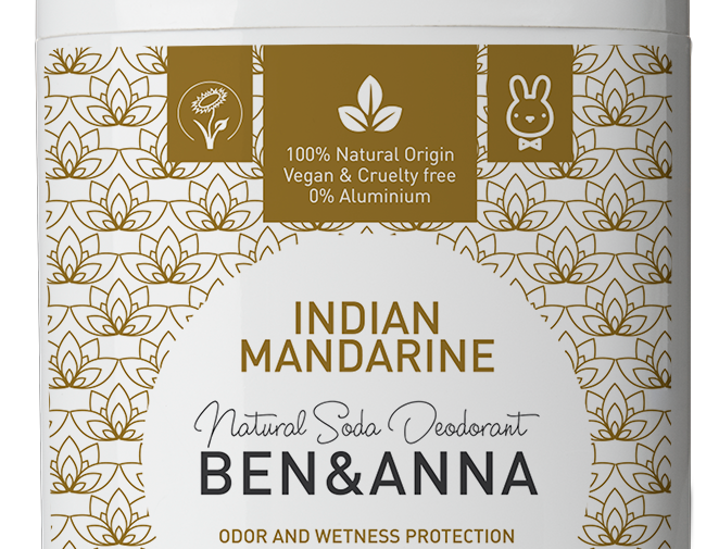 Ben&Anna Indian Mandarine Deodorantti Stick 60g