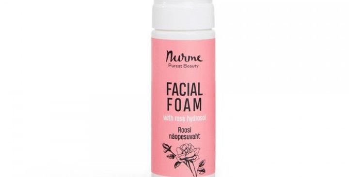 Nurme Facial Foam With Rose Hydrosol 150ml puhdistusvaahto