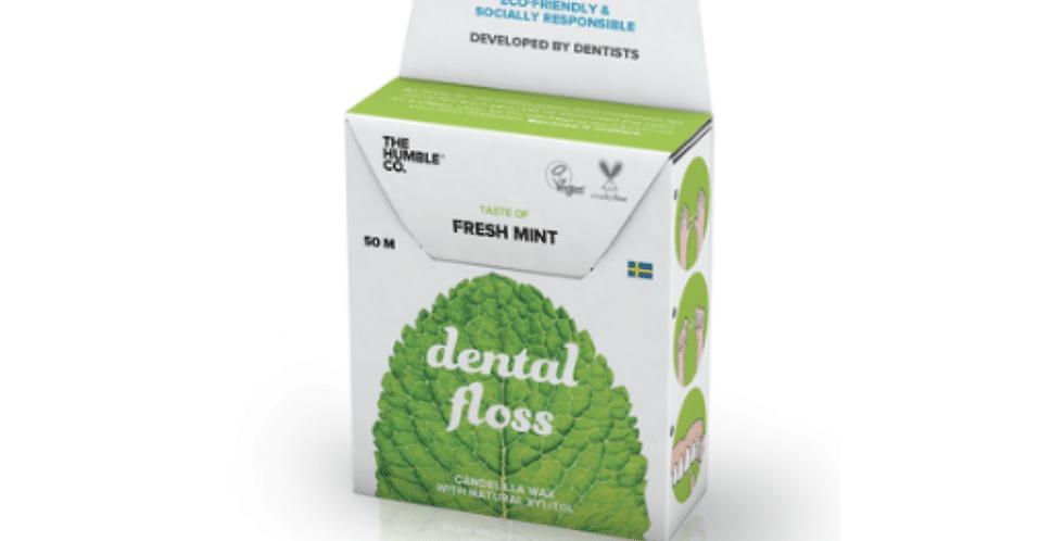 The Humble Co Fresh Mint Minttu Hammaslanka Dental floss