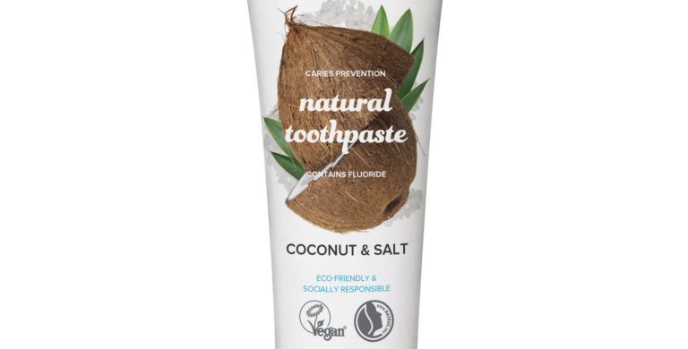 The Humble Co Coconut&Salt, Kookos&Suola Hammastahna 75ml