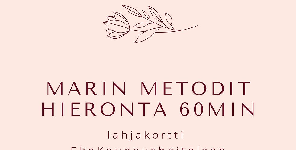 Lahjakortti MarinMetodit-hieronta